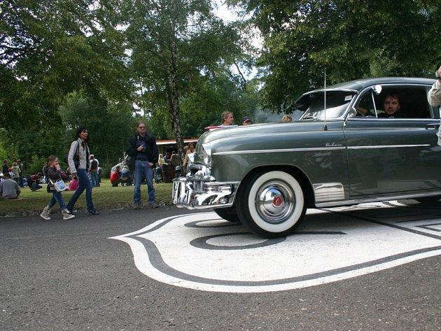 V Luštěnicích se na moment nacházela i slavná Route 66.