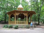Park Štěpánka v Mladé Boleslavi.