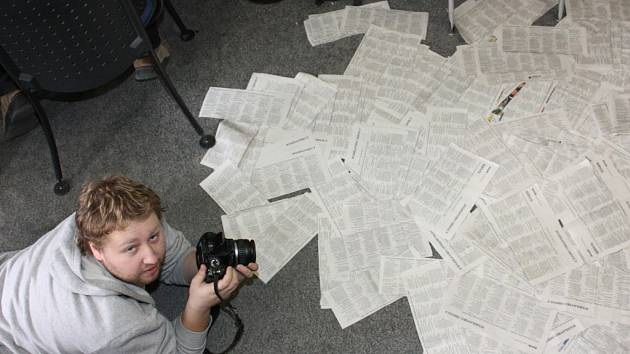 Hlasovací lístky zaplavily redakci Boleslavského deníku