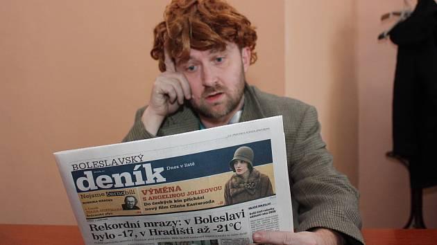 Jiří Macek, šéfredaktor Boleslavského deníku.