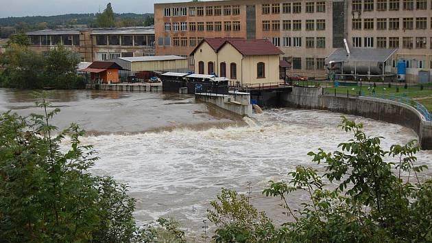 Povodně - září 2010: Benátky nad Jizerou