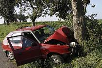Tragická nehoda u Mohelnice.