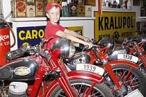 Muzeum motocyklů Jawa Rabakov