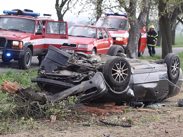 Nehoda - ilustrační foto