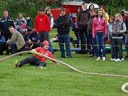 Pokračování hasičského sportu v Petkovech.