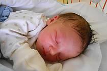 Lukáš Brodský se narodil 19. srpna, vážil 2,91 kg a měřil 48 cm. Maminka Klaudie a tatínek Dalimil si ho odvezou domů do Dobrovice.