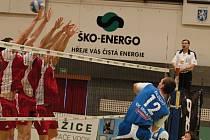 Kooperativa extraliga volejbalu: VK Karbo Benátky - ČZU Praha