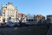 Masarykovo náměstí v Mnichově Hradišti.
