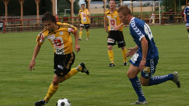 Přátelský zápas Liberec - Hradec Králové hraný v Rejšicích