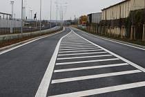Severovýchodní tangenta byla otevřena ve středu 11. listopadu 2015