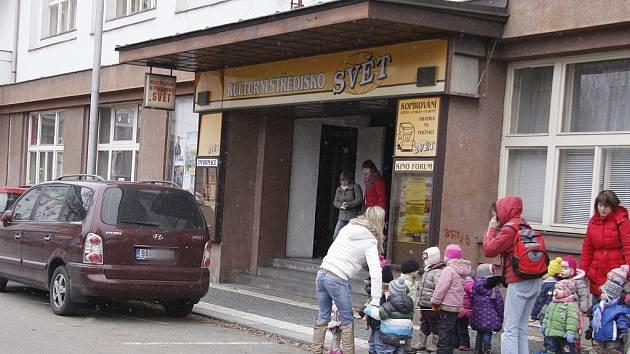 Kulturní středisko Svět Mladá Boleslav, kde sídlila také kinokavárna, je už minulostí.