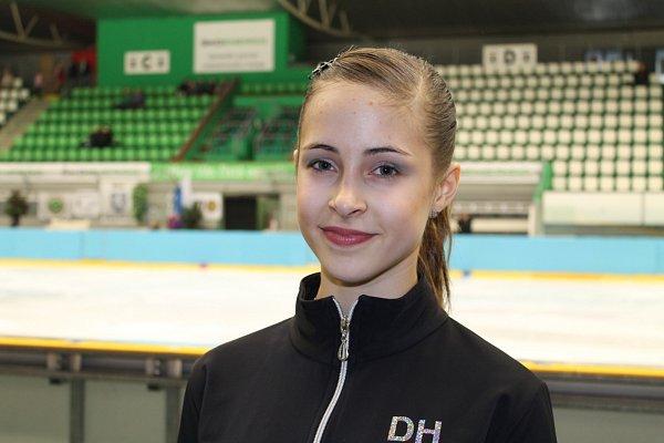 Dorota Horáčková, reprezentantka domácího týmu, skončila na krásném 13.místě z30 závodnic vkategorii žaček.