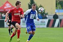 Fotbalisté Mladé Boleslavi nestačili ve 3. kole MOL Cupu na druholigovou Chrudim.