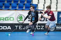 Florbalisté Mladé Boleslavi nastříleli Spartě patnáct branek ve dvou zápasech.