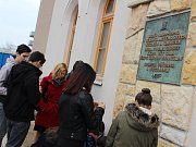 Pietní vzpomínka na umučené odbojáře z organizace Obrana národa a připomínka smutného výročí německé okupace z roku 1939.