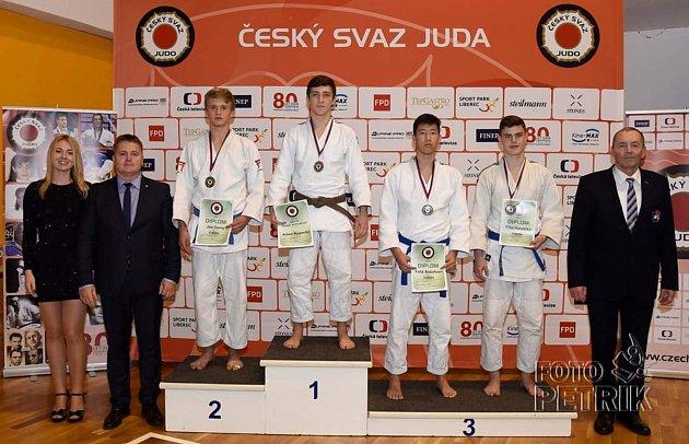 Adam Kopecký vybojoval v Brně titul Mistra České republiky ve své váhové kategorii.