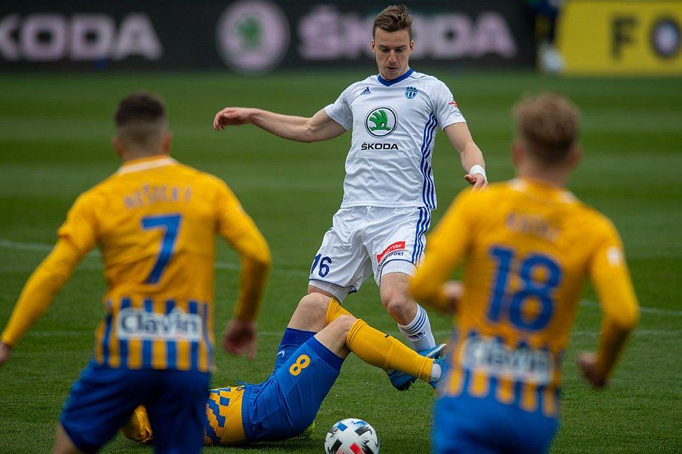 Fotbalisté Opavy se vracejí z Mladé Boleslavi s prázdnou.