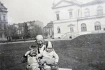 Dobové fotografie parku na Výstavišti v Mladé Boleslavi 1941