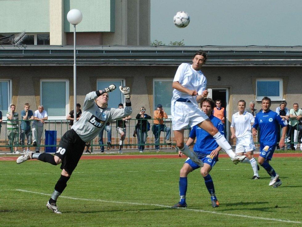 Ze zápasu FK Mladá Boleslav B - Slovan Liberec B