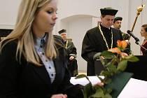 Březnová promoce Škoda Auto Vysoké školy
