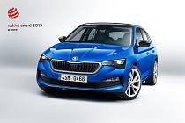 Škoda Scala získala první ocenění.  Ještě před uvedením na trh.