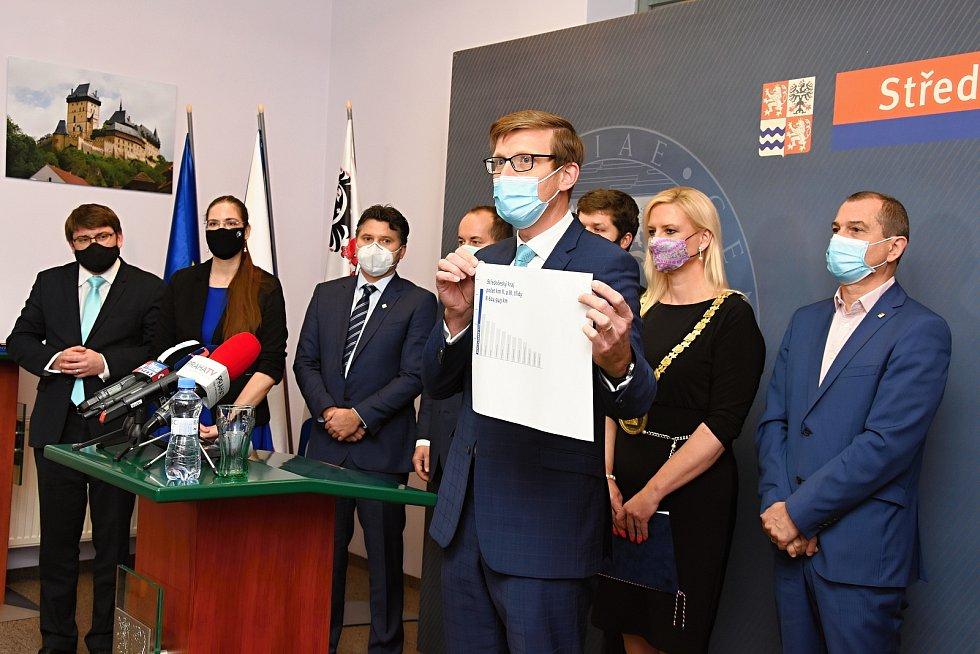 Středočeské zastupitelstvo ze dne 16. listopadu 2020.