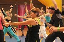 Prvního boleslavského Zumbatonu se zúčastnilo na 120 cvičících nadšenců.