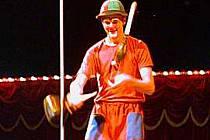V cirkusu nechybí ani klauni a artisté.