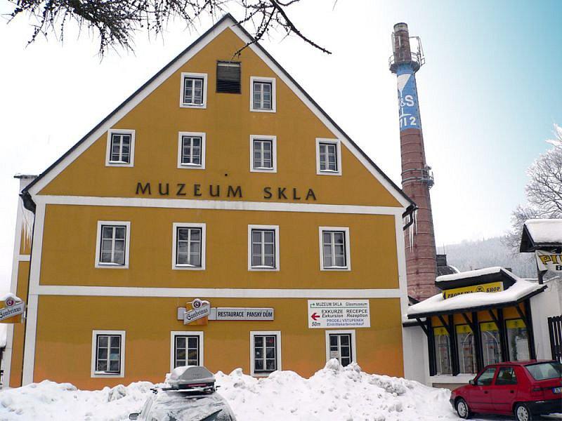 Muzeum skla Hrrachov.