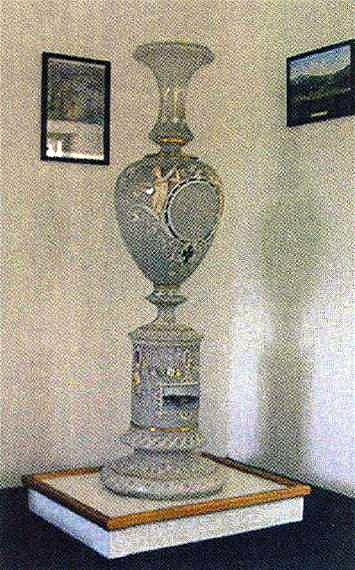 Rozbitá váza v ceně přes 1,5 milionu korun.