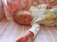 KÁŤA Soukalová se narodila 11. října. Vážila 3,22 kilogramů a měřila 49 centimetrů. Maminka Mirka a tatínek Miloš si ji odvezou domů do Kosmonos, kde už se na ni těší sestřička Terezka.