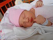 Nela Rejnartová se narodila 7. ledna, vážila 3,57 kg a měřila 50 cm. S maminkou Lucií a tatínkem Davidem bude bydlet v Mladé Boleslavi, kde už se na ni těší bráška Davídek.