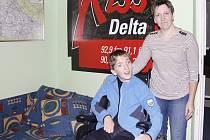 Pavel Boška potřebuje nový vozík, pomozte