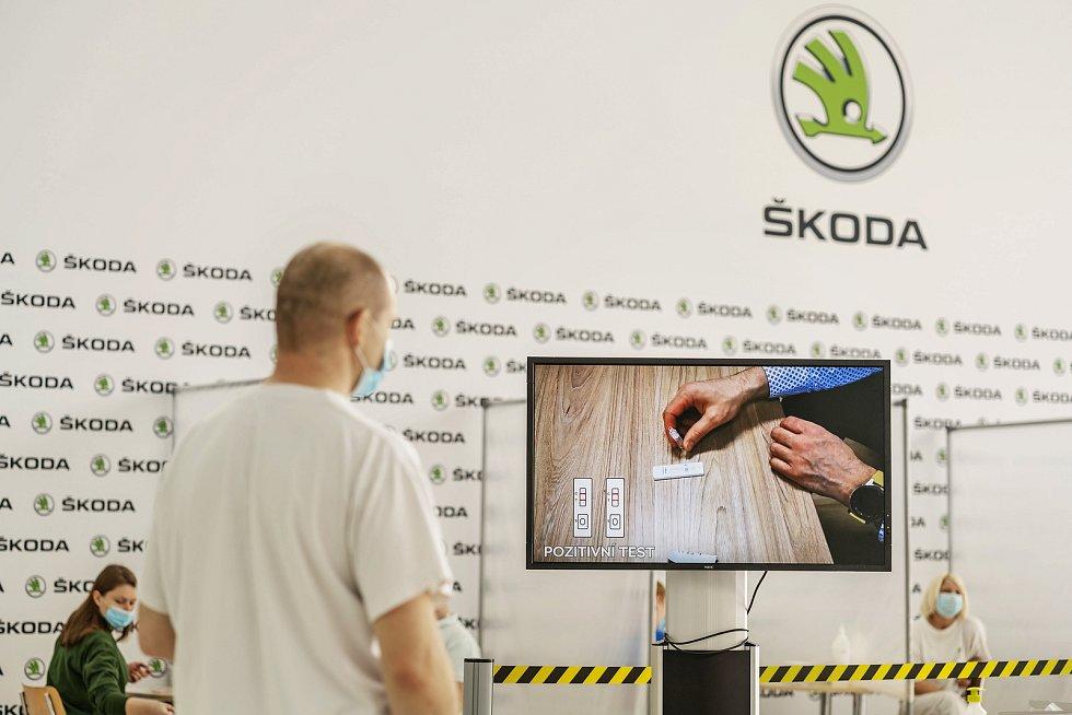 Testování ve Škoda Auto
