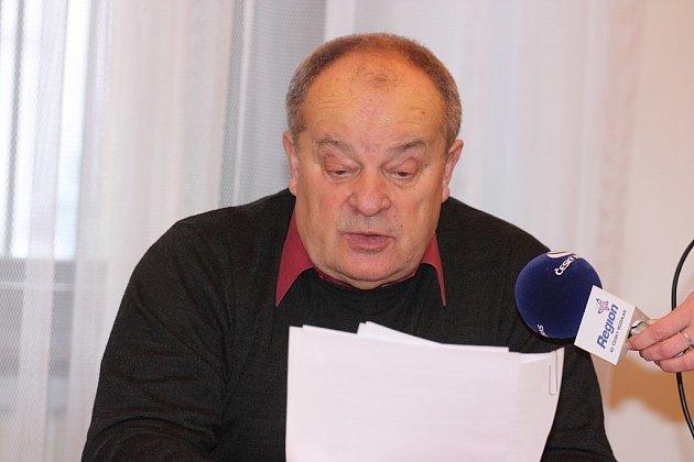Náměstek primátora Mladé Boleslavi Jaroslav Polívka