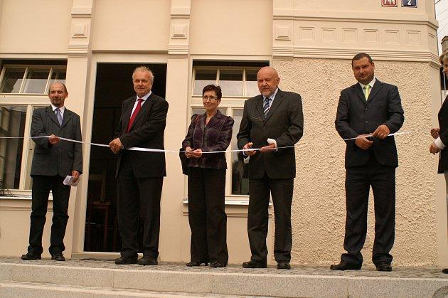 Otevření volnočasového centra v Hradišti