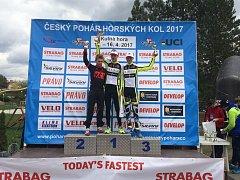 Závodníci CS Ivar Author Teamu na závodech v Kutné Hoře.