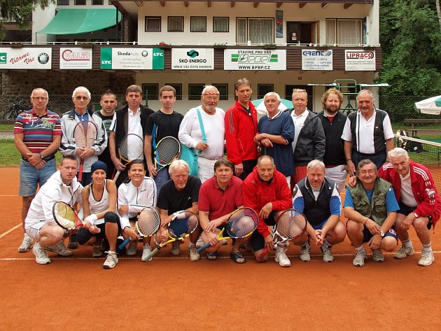 Účastníci turnaje čtyřher na Štěpánce