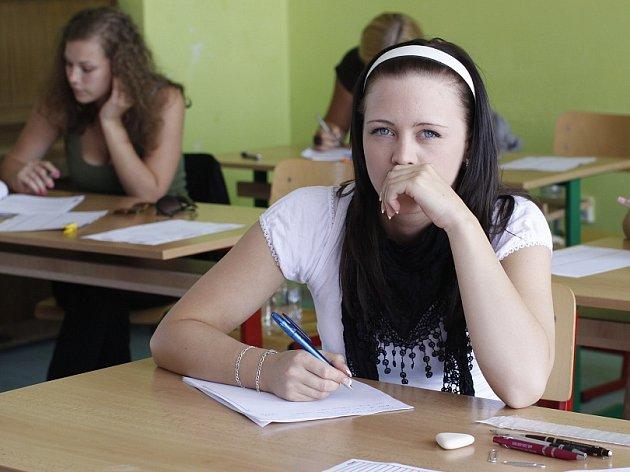Maturitní zkoušky na Boleslavsku.