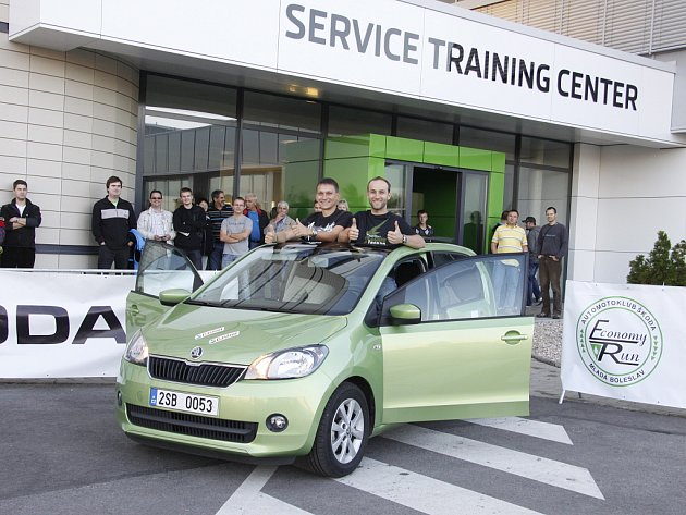 Škoda Economy Run 2012