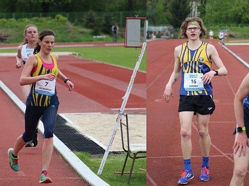 Sklenářová i Vošvrda zaběhli osobní rekordy.