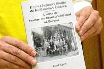 Křest knihy Petra Polakoviče Dopis Josefa Egerta z Jaguari v Brazilii do Kněžmosta v Čechách.