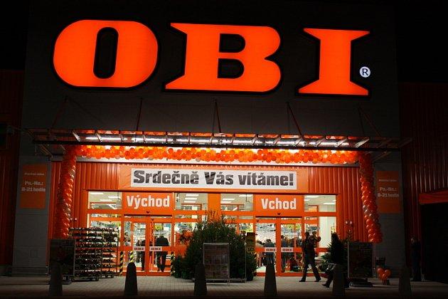 Otevírací party hobbymarketu OBI v Mladé Boleslavi.