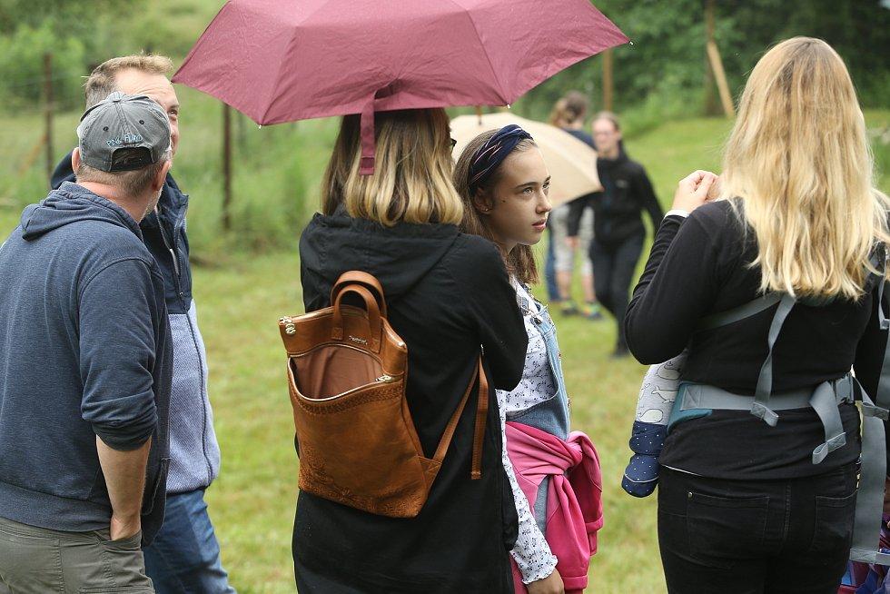 Festival Isarafest 2020 na letní scéně Michalovické Putny.
