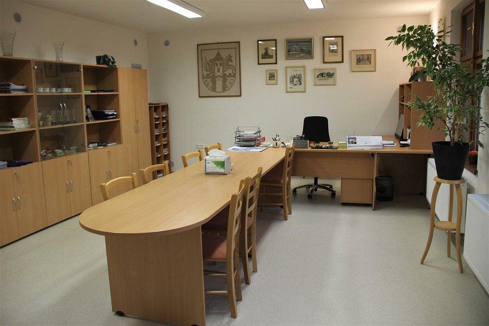 Brodce - prostory nového úřadu