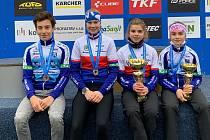 Cyklisté z boleslavského oddílu TJ Auto Škoda Mladá Boleslav.