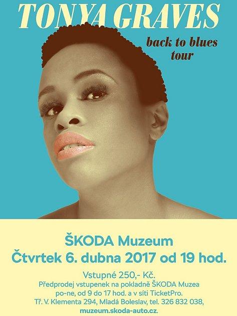 Tonya Graves Back To Blues Tour 2017vMladé Boleslavi.