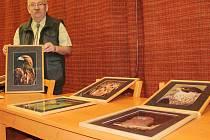 Jiří Kubín v Březovicích vystavoval fotografie lesní zvěře
