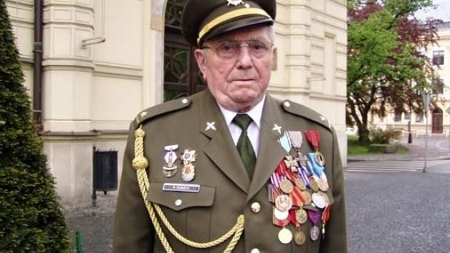 Major ve výslužbě Rostislav Kubišta.