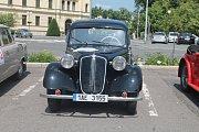 Z desátého ročníku Oldtimer Bohemia Rally v Mladé Boleslavi.